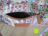 Tasche: Yogatasche »Damayanti« von #DoYourYoga aus 100% Edel-Canvas (Segeltuch), aufwendig verarbeitet, für Yoga- und Pilatesmatten bis zu einer Größe von 186 x 60 x 0,5 cm, in 12 ausgefallenen Designs erhältlich.
