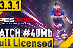 MINIMUM PATCH FOR PES 2019 Mobile V3.3.1 SIZE 40mb (UPDATE 20/06/2019)