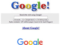 Google Past, Current, Still so
