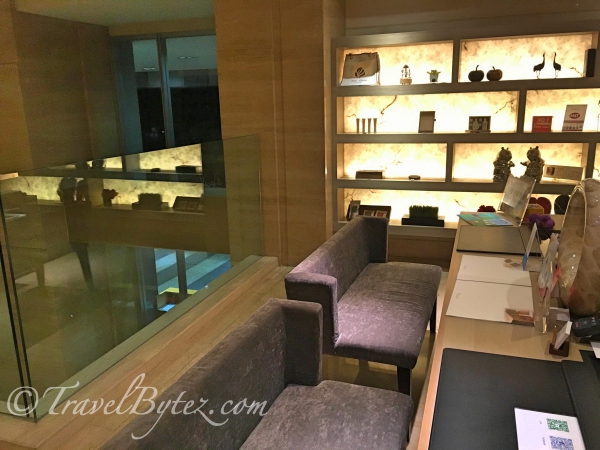 The Gaia Hotel (Beitou) reception area
