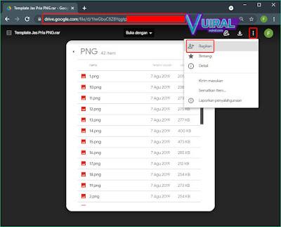 Cara Mengirim File Ke Link Google Drive Orang Lain (Publik)