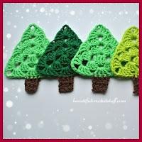 Arbolitos a crochet