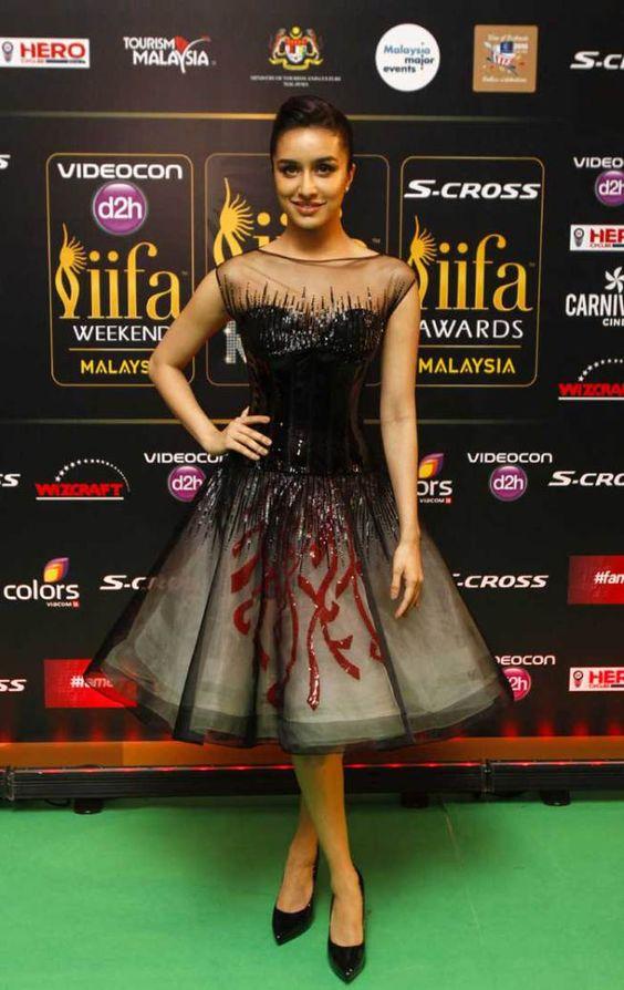 Shraddha Kapoor at Iifa Awards 2017