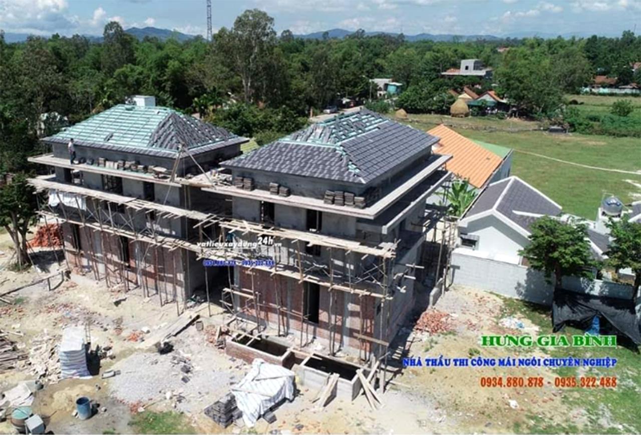 Công ty Hưng Gia Bình - Nhà thầu thi công mái ngói trọn gói tại Hội An và miền Trung
