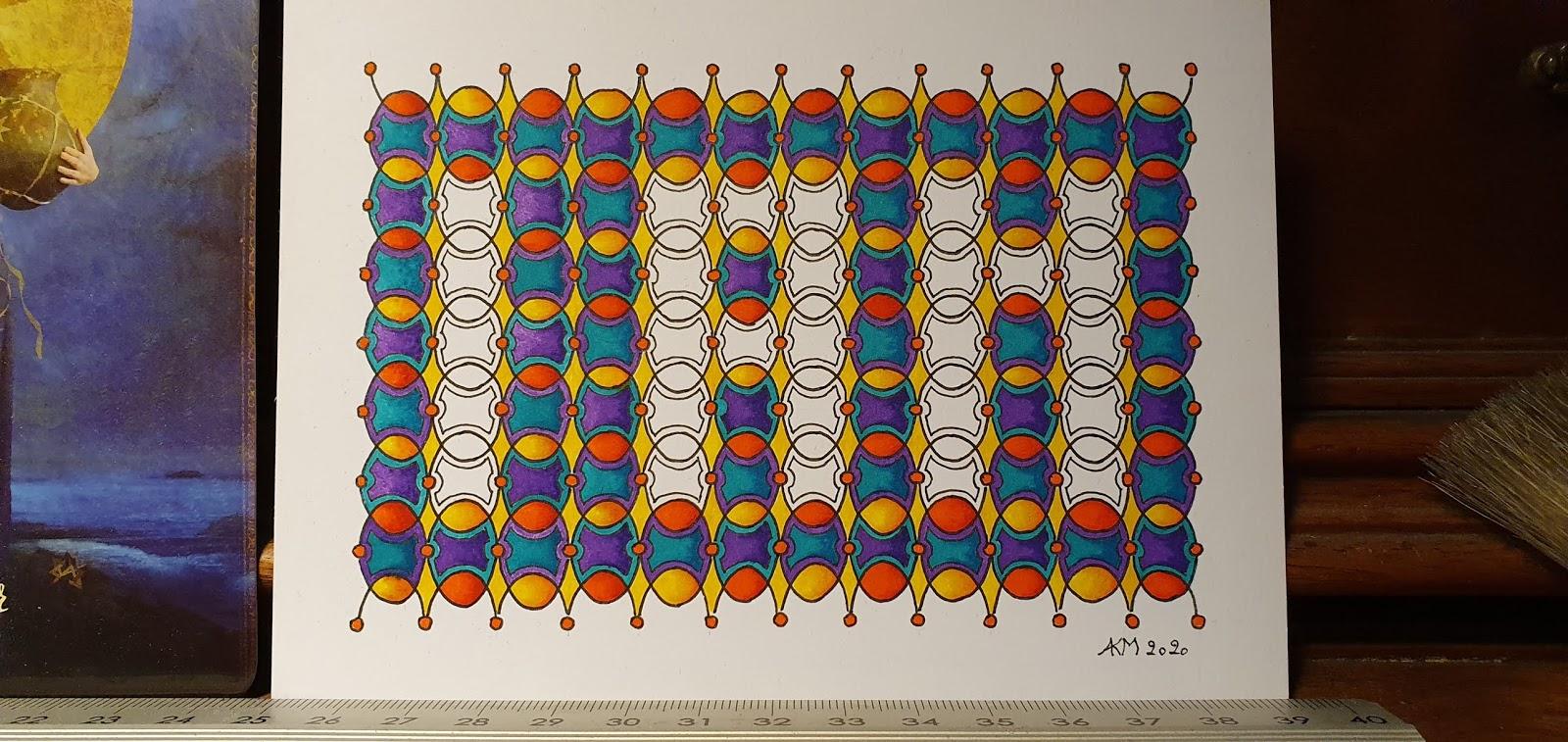 I AM: Tangle patroontje 03