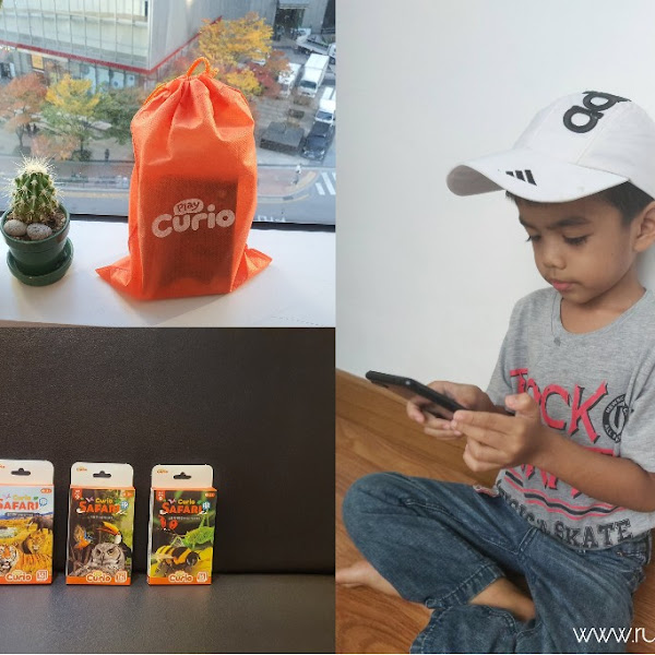 Curio Safari, Teknologi AR untuk Anak bermain dan Belajar