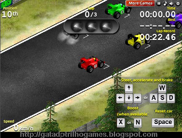 Formula 1 jogo online