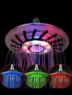 Romantic, LED Shower, Bathroom light, shower light, unique shower light