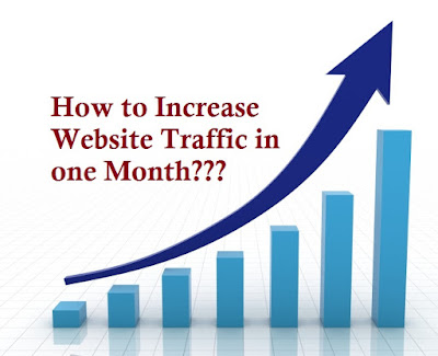 6 Ways to Increase Your Website Traffic in one month