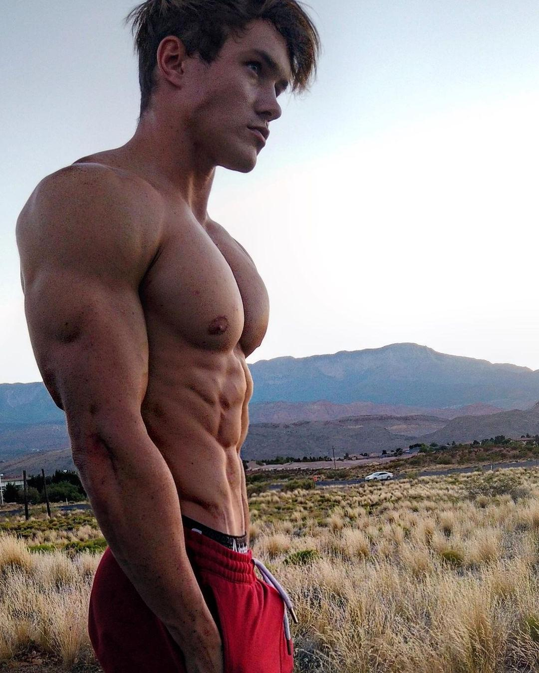 hot-young-bodybuilders-jason-bjarnson-shirtless-huge-arms-big-swole-pecs