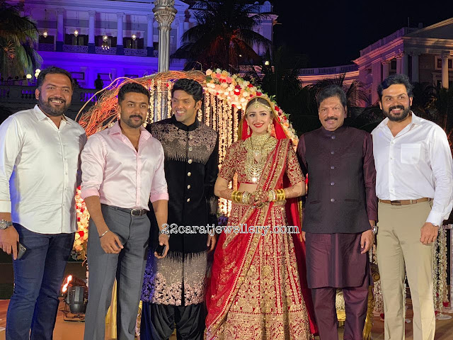 Arya Sayyesha Sehgal Wedding