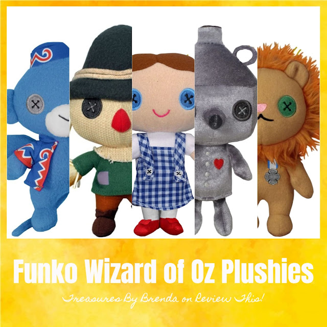 Discover Funko's adorable, Wizard of Oz Plushies!