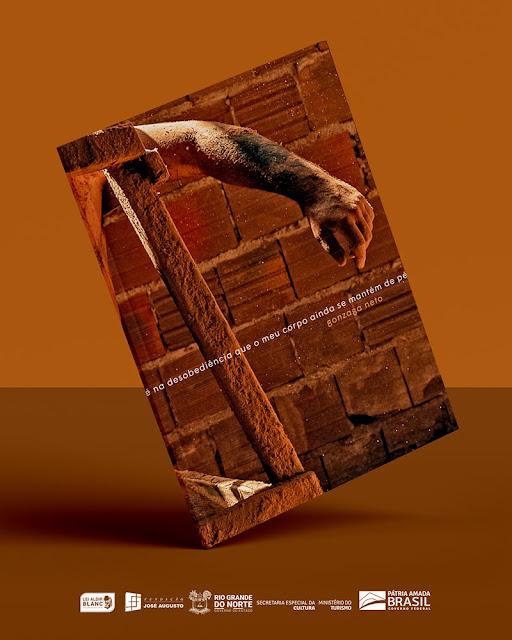 Artista potiguar lança livro e performance sobre desobediência e sobrevivência