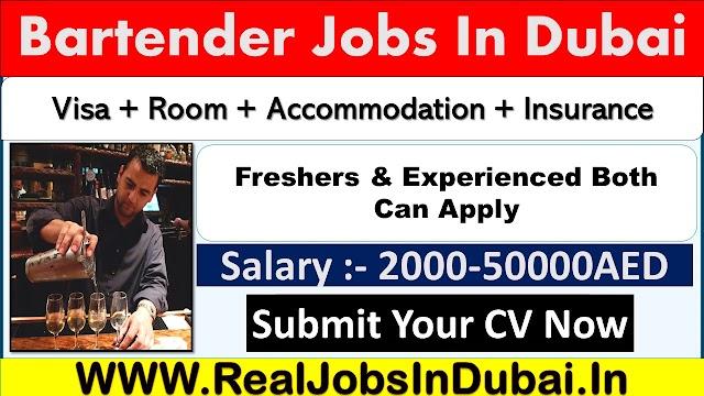 Bartender Jobs In Dubai, Abu Dhabi & Sharjah - UAE 2021