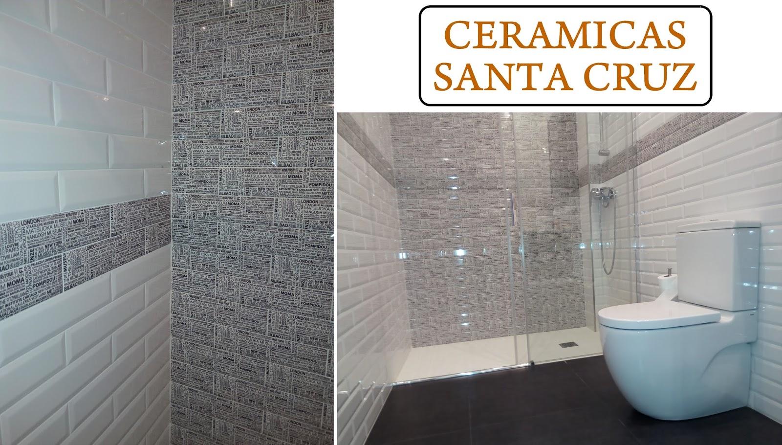 CERAMICAS SANTA CRUZ: Cuarto de baño con azulejo biselado ...