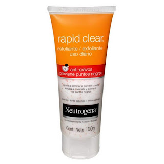 esfoliante neutrogena rapid clear anti cravos
