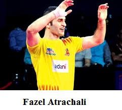 Fazel Atrachali, vivo pro kabaddi