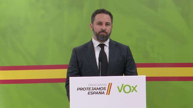 Programa Protejamos España: VOX pide un nuevo Gobierno de Concentración que defienda la vida y el empleo de los españoles