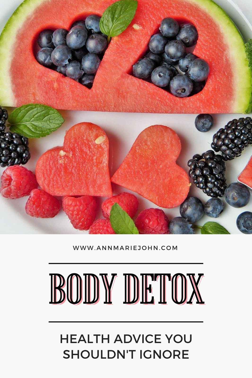 Body Detox: Health Advice You Shouldn't Ignore