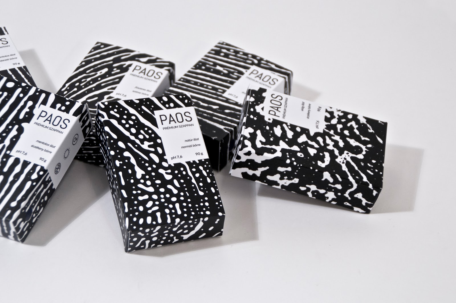 Thiết kế bao bì sản phẩm PAOS Premium Soap