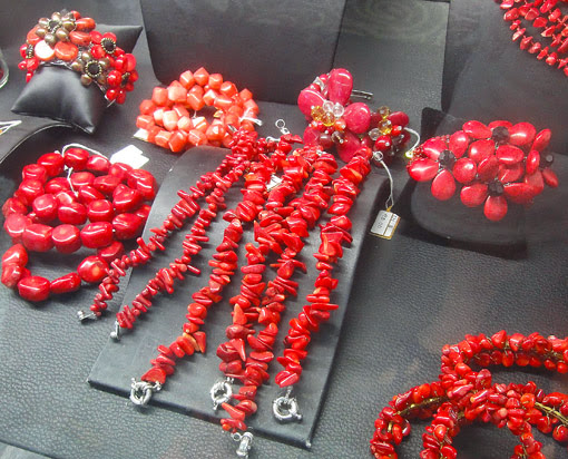 Buy coral jewelry ethnic style
