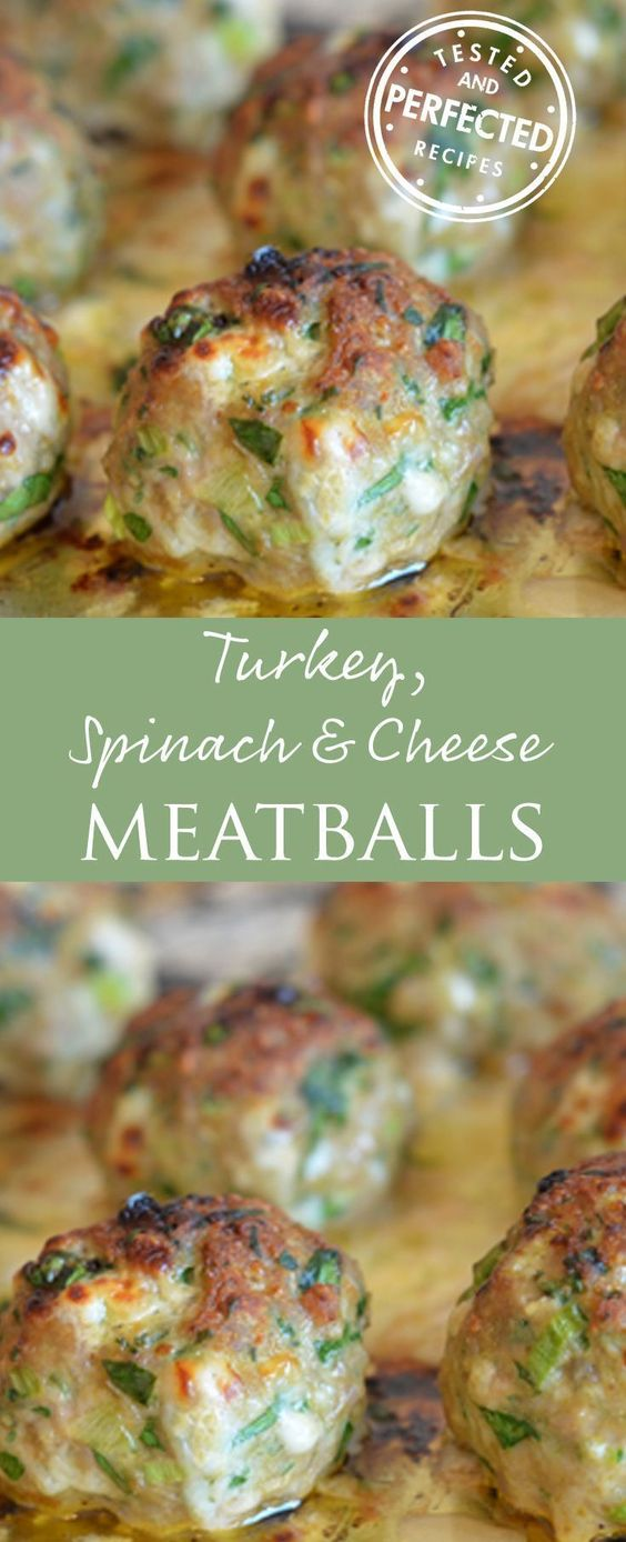 ★★★★☆ 2261 ratings | Turkey, Spinach & Cheese Meatballs  #HEALTHYFOOD #EASYRECIPES #DINNER #LAUCH #DELICIOUS #EASY #HOLIDAYS #RECIPE #DESSERTS #SPECIALDIET #WORLDCUISINE #CAKE #APPETIZERS #HEALTHYRECIPES #DRINKS #COOKINGMETHOD #ITALIANRECIPES #MEAT #VEGANRECIPES #COOKIES #PASTA #FRUIT #SALAD #SOUPAPPETIZERS #NONALCOHOLICDRINKS #MEALPLANNING #VEGETABLES #SOUP #PASTRY #CHOCOLATE #DAIRY #ALCOHOLICDRINKS #BULGURSALAD #BAKING #SNACKS #BEEFRECIPES #MEATAPPETIZERS #MEXICANRECIPES #BREAD #ASIANRECIPES #SEAFOODAPPETIZERS #MUFFINS #BREAKFASTANDBRUNCH #CONDIMENTS #CUPCAKES #CHEESE #CHICKENRECIPES #PIE #COFFEE #NOBAKEDESSERTS #HEALTHYSNACKS #SEAFOOD #GRAIN #LUNCHESDINNERS #MEXICAN #QUICKBREAD #LIQUOR
