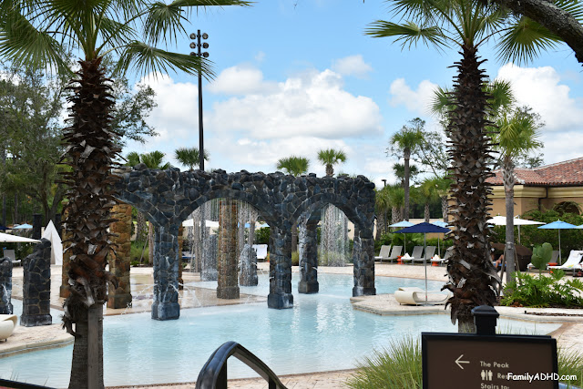 Four Seasons Resort Orlando at Walt Disney World Resort Park-View Suite Family Travel Guide splash zone