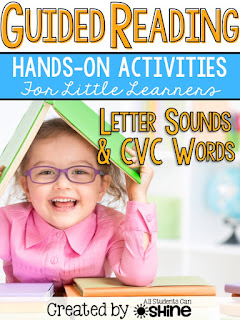 guided reading letter sounds cvc words