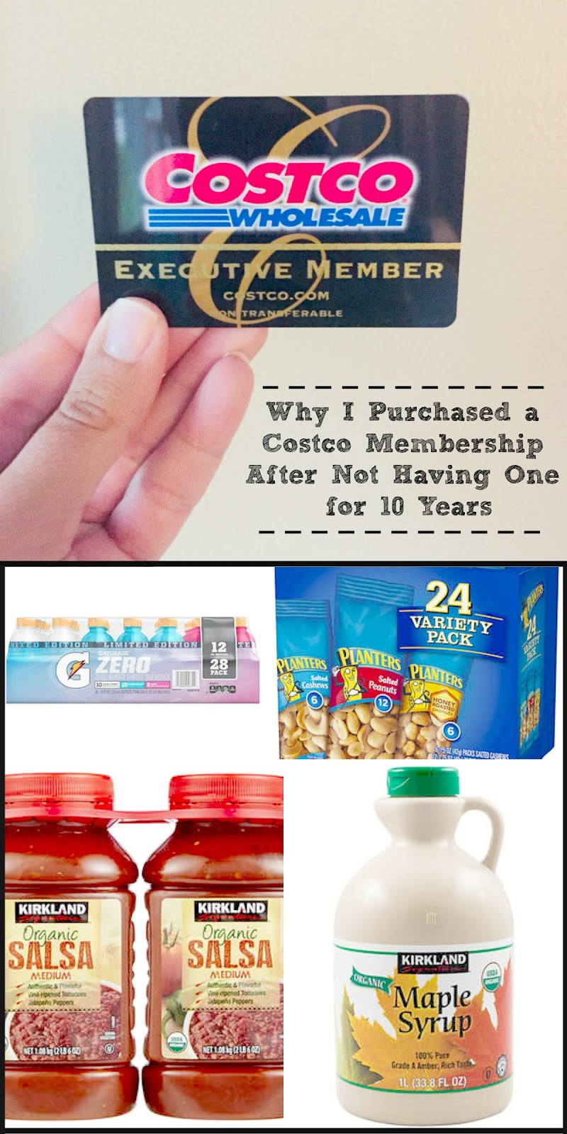 Ally's Sweet & Savory Eats: Why I Purchased a Costco