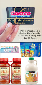 Why I Purchased a Costco Membership After Not Having One for 10 Years....the 9 reasons why, plus my favorite items to buy!