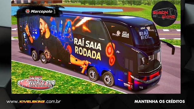 PARADISO G7 1800 DD 8X2 - BANDA RAI SAIA RODADA