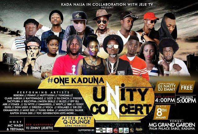 #OneKadunaUnityConcert Come January 8th