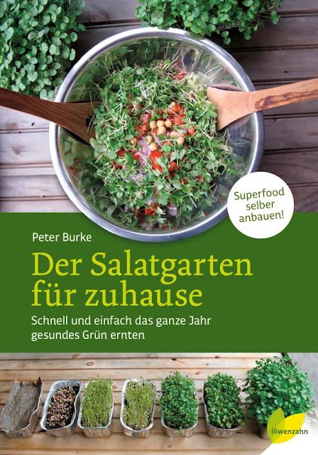 Gartenblog Topfgartenwelt Gartenbuch Rezension: Der Salatgarten für zuhause, erschienen im Löwenzahn Verlag