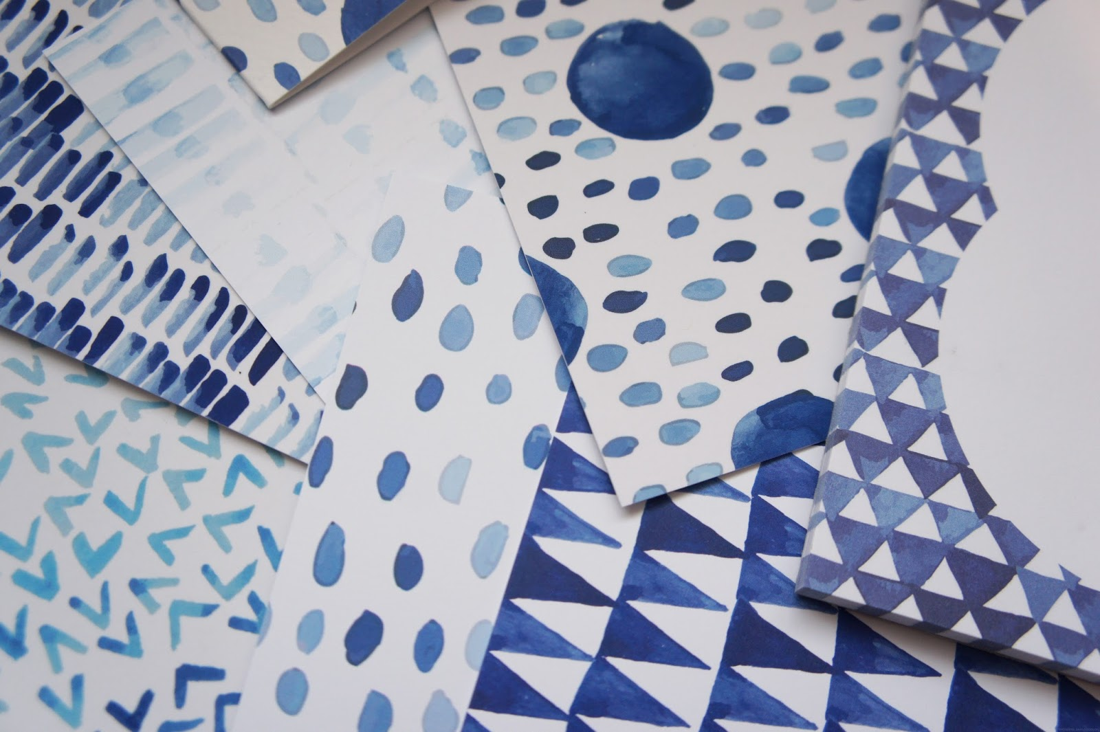 paperhaul october shades of shibori subscription box uk stationery