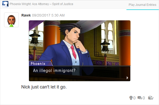 Phoenix Wright Ace Attorney Spirit of Justice an illegal immigrant court