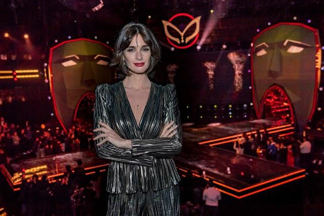 Paz Vega fue invitada especial del ¿Quién es la máscara?