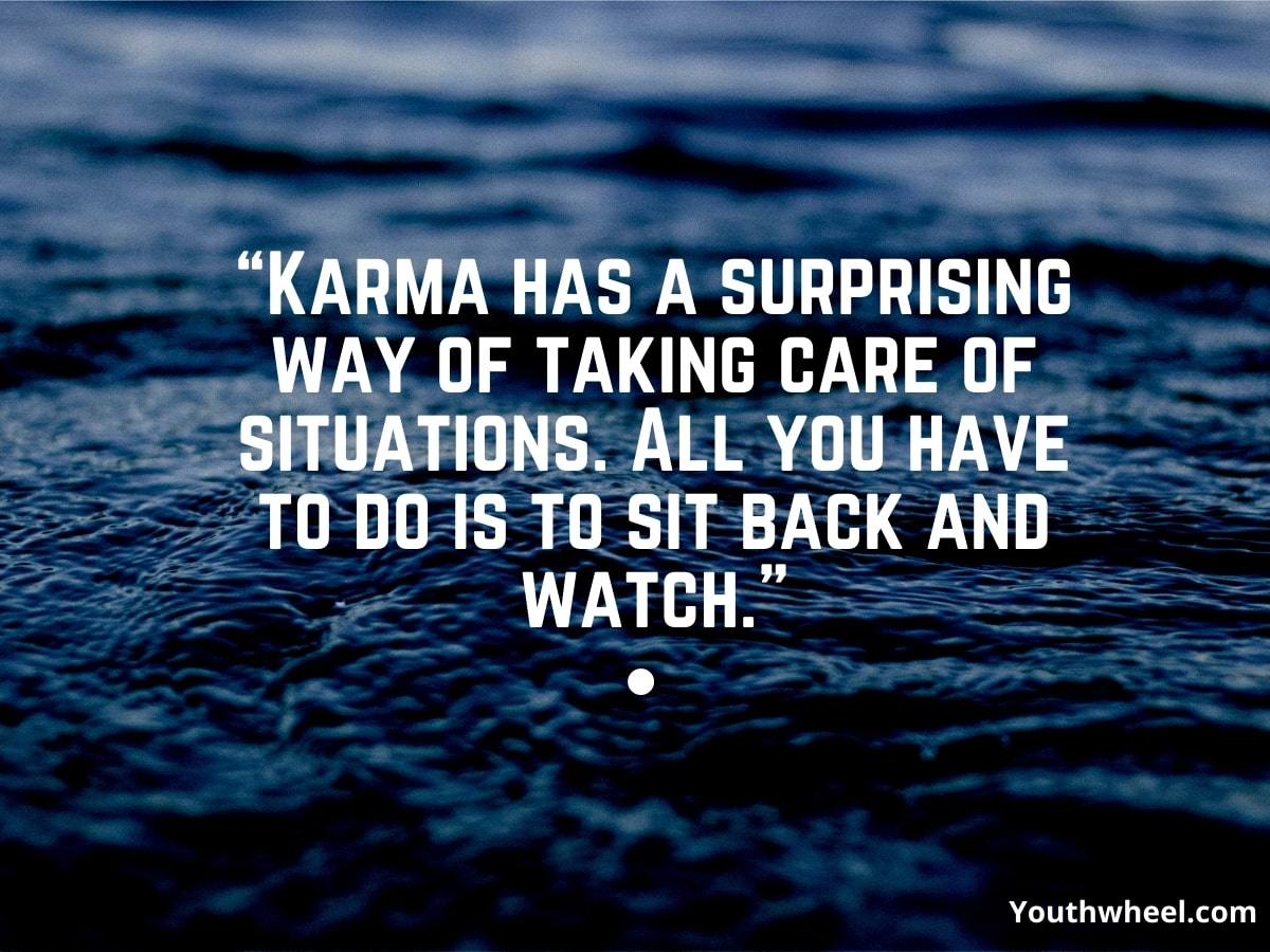Karma-quote, Beautiful lines that will touch your heart