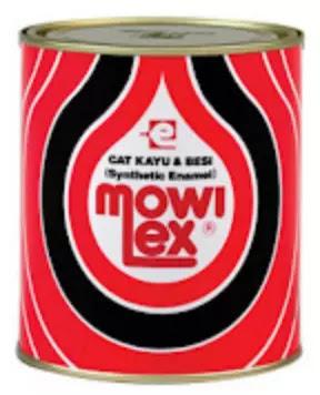 Cat kayu dan besi Mowilex