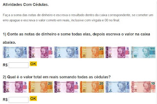 http://www.estudamos.com.br/somar-valores-de-cedulas-dinheiro/soma-de-notas-de-dinheiro-1.php