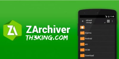 تحميل افضل برنامج لفك الضغط للاندرويد  download zarchiver pro