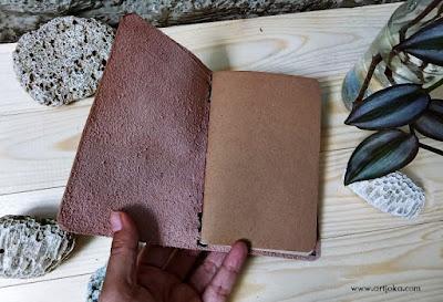 travel jurnal kulit