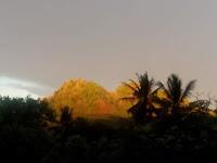Subhanallah..Menakjubkan Fenomena Alam Gunung Canggah di Desa Kertasari Banjarharjo