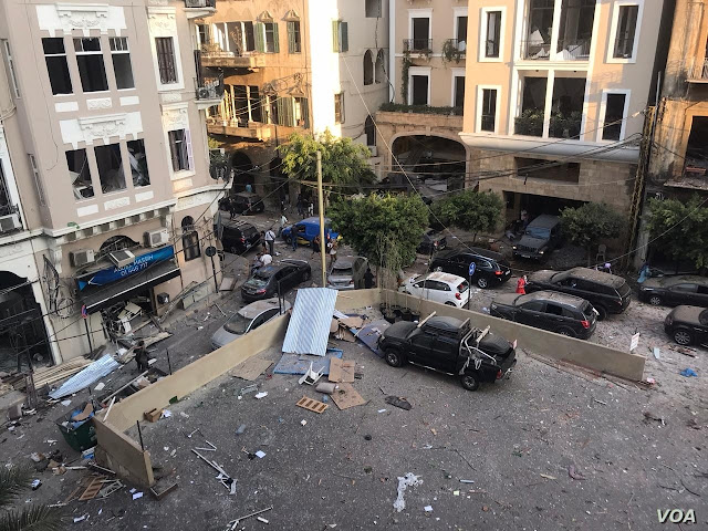 GEOPOLITICS: Huge Blast Rocks Beirut - Over 100 reported missing.