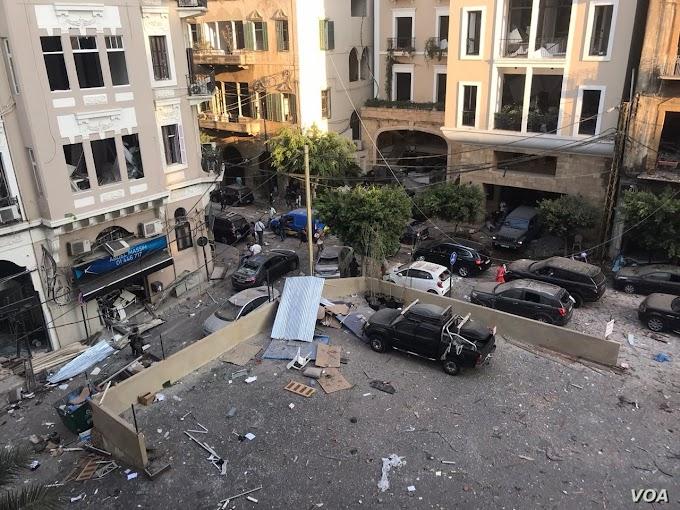TERROR: Huge Blast Rocks Beirut - Over 100 killed and 4000 injured including Britons.