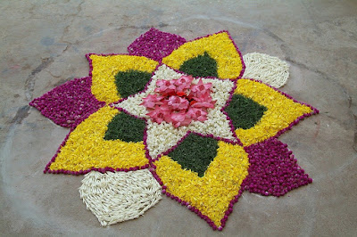 Best Simple Rangoli Design For Diwali | Easy Rangoli Design