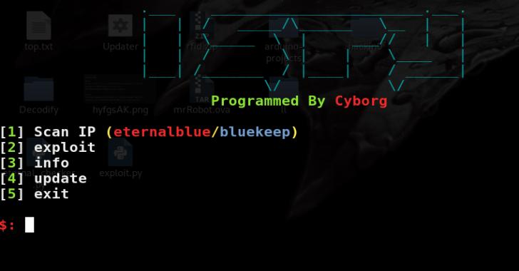 ISPY : Eternalblue/Bluekeep Scanner & Exploit