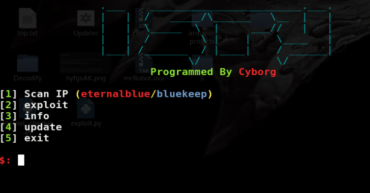 ISPY : Eternalblue/Bluekeep Scanner & Exploit