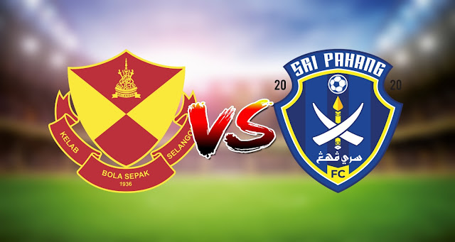 Live Streaming Selangor vs Sri Pahang FC 6.3.2021 Liga Super
