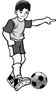 Menendang Bola : menendang, Teknik, Dasar, Bermain, Sepak, ATURAN, PERMAINAN