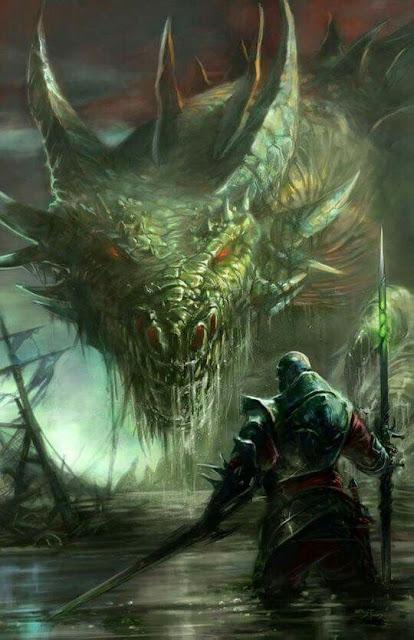 Personalizando a los dragones de Dungeons & Dragons - Dragón Pantano